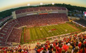 Razorback SEC Football Schedule