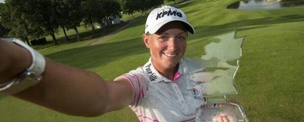 Stacy Lewis for the win