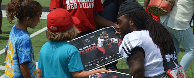 red wolves scrimmage and fan day