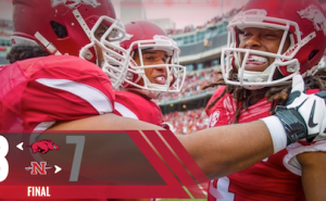 arkansas beats nicholls state