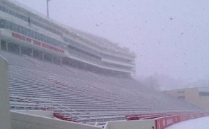 razorback fans will brave the snow