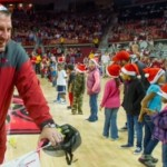 Razorback Basketball Relies on Defense; Bielema Plays Santa