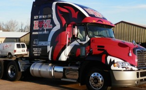 red wolves need to get packing
