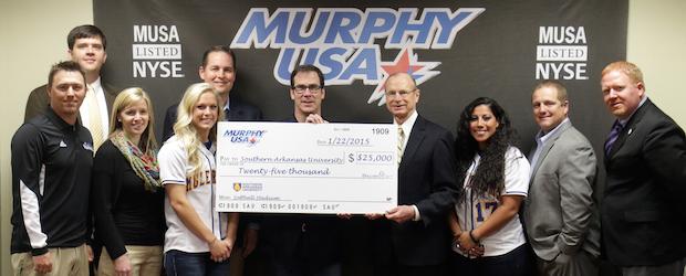 Murphy USA gives 25K to SAU Softball