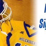 Mulerider Football Sign 29 for 2015