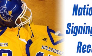 Mulerider football team enjoyed a successful National Signing Day