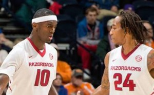 Michael Qualls and Bobby Portis
