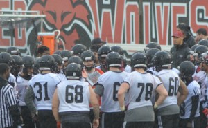 Red Wolves Spring Practice