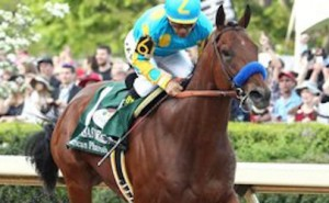 Bob Baffert trained American Pharaoh