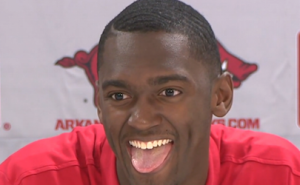 Bobby Portis lets his hair down