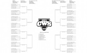 2015 NCAA College World Series Bracket