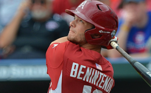 Hogs Lose Opener in CWS