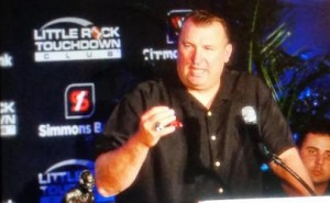 Bret Bielema 2015 Little Rock Touchdown Club