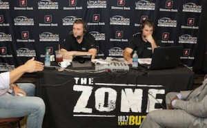the buzz with Peyton hillis and felix jones