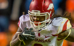 Brandon Allen and Alex Collins in win over Tennessee