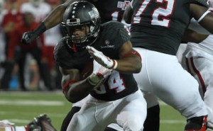 Red Wolves Win with rushing