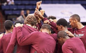 little rock trojans head to big dance