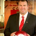 Bielema Makes Splash at First Press Conference – plus an interview with Jen Bielema
