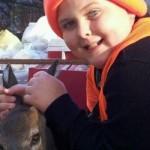 DeWitt Youth Gets First Deer
