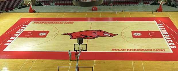 NolanCourt Razorback Basketball