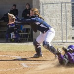 Lady Toppers Escape with Sweep of Lady Scots Softball
