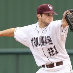 Cleveland Goes The Distance As Trojans Baseball Takes Game One From ULM, 3-2