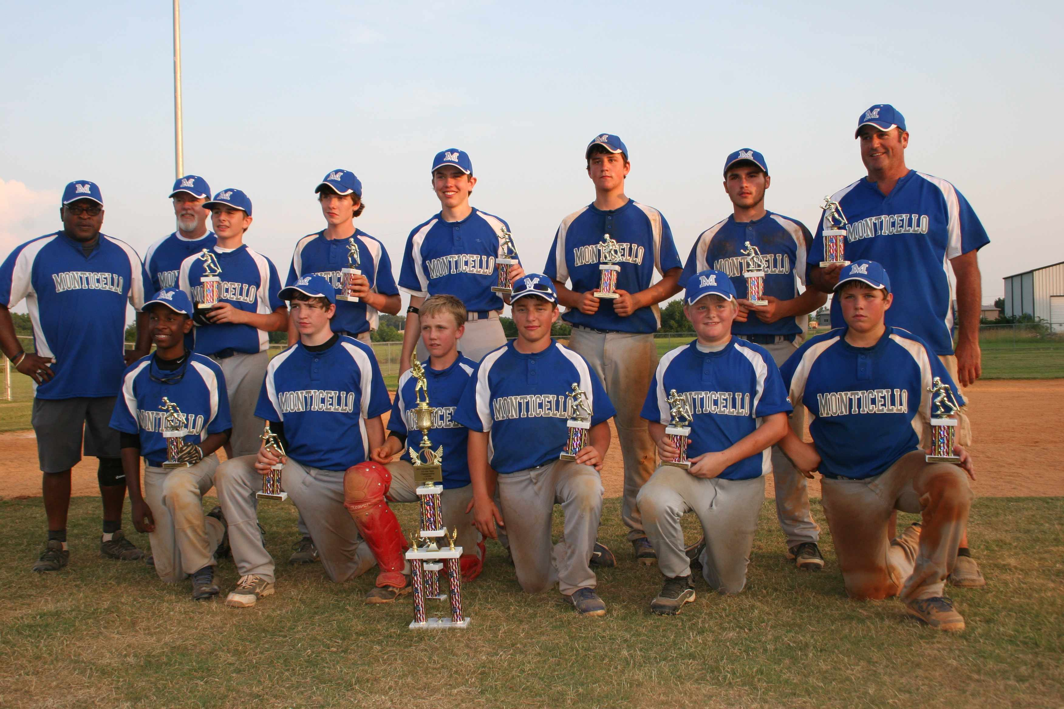 Youth Baseball Monticello Team Takes Title