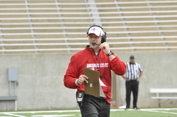 Red Wolves coach Bryan Harsin
