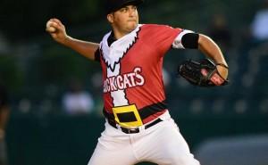 Former Arkansas baseball player Baxendale