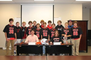 lacrosse in arkansas cody eckes signs with hendrix