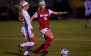 Razorback soccer wins in Stillwater