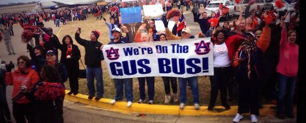 All Aboard the Gus Malzahn Bus Auburn