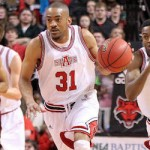 Red Wolves Beat Trojans; Townsel Gets in Books
