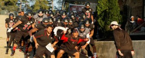 Fredi Knighten and the black team put on a show