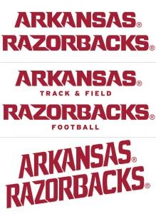 new razorback uniforms wordmarks