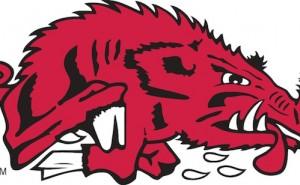 slobbering hog razorback logo rivalry