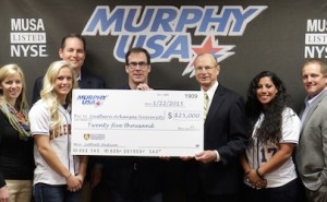 Murphy USA gives 25K to SAU Softball