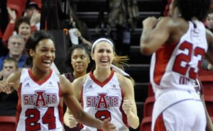red wolves break trojans streak