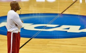 Mike Anderson at the 2015 NCAA Tournament