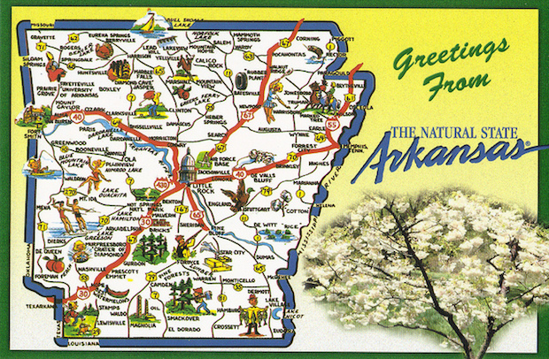 greetings from the natural state of Arkansas