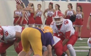 cabot beats catholic in thriller high school football game