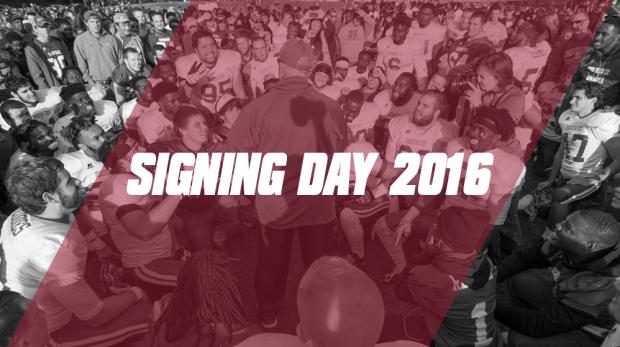 reddies 2016 signing day