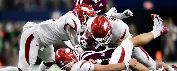 hogs lose to Texas A&M